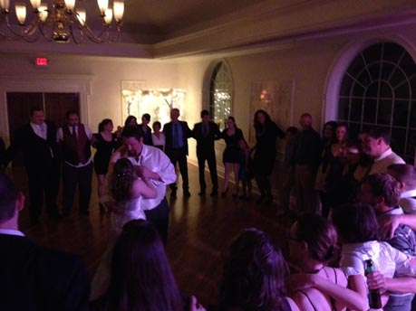 Wedding disc jockey Massachusetts