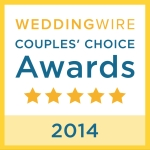 DJ MaShane wins Wedding Couple's Choice Award 2014